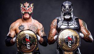 Los Lucha Brothers con campeonatos de MLW