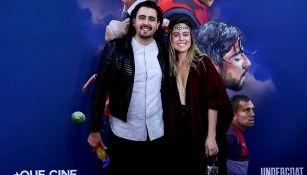 Amaury Vergara, en la alfombra roja de 'Chivas: La película'