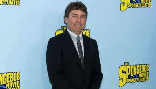 Stephen Hillenburg durante un evento