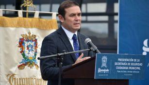 Alejandro Navarro, alcalde de Guanajuato