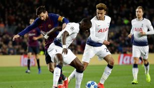 Tottenham se clasificó al sacarle el empate al Bercelona