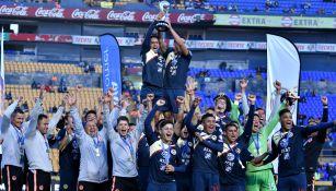 América SUB 17 festeja título del Apertura 2018