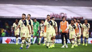 América, entra a la cancha del Estadio Azteca