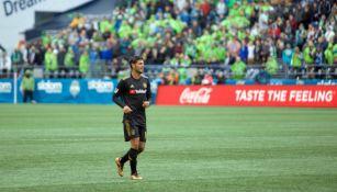 Carlos Vela, trota en partido del LAFC
