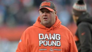 Freddie Kitchens en un partido con los Browns