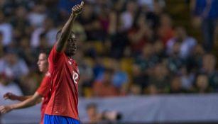 Joel Campbell celebra gol con Costa Rica