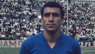 Héctor Pulido con el Cruz Azul