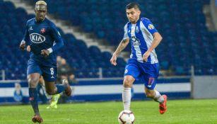 Tecatito, en un partido del Porto