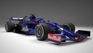 El nuevo Toro Rosso STR14 para la temporada 2019