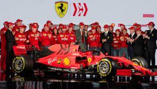 Nuevo monoplaza de Ferrari para la temporada 2019