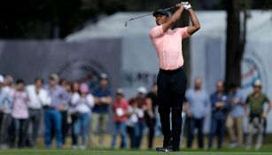 Tiger Woods, durante su participación en World Golf Championships