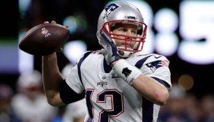 Brady manda un pase en el Super Bowl LIII