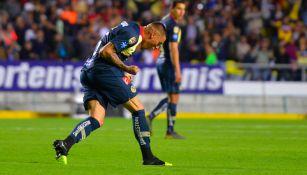 Nico Castillo festeja ante Monarcas