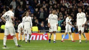 Real Madrid tras caer ante el Ajax en Octavos de Final de Champions