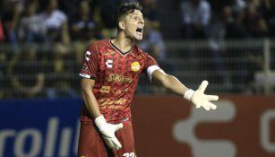 Gaspar Andrés Servio durante un encuentro ante el Atlético San Luis