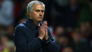 Mourinho, durante un juego