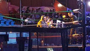Leo Riaño, el Niño Águila y el Hechicero narran el CMLL