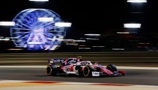 Checo durante el GP de Bahrein