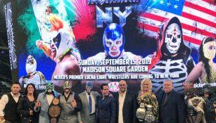 Triple A anuncia que dará función en el Madison Square Garden