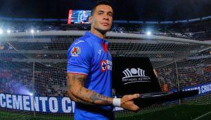 Milton Caraglio presume reconocimiento del Estadio Azteca
