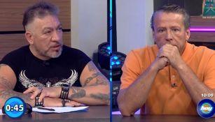 Alfredo Adame y Carlos Trejo cara a cara