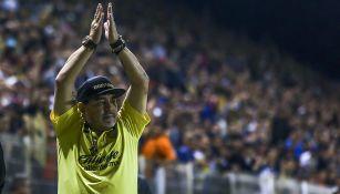 Maradona ha tenido buenos números al frente de Dorados de Sinaloa