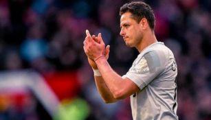 Chicharito agradece a la afición del Manchester United