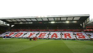 Mosaico en homenaje a lo sucedido en Hillsborough