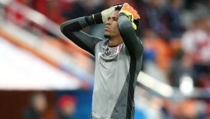 Gallese se lamenta tras derrota de Perú
