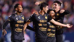 Dorados celebra una anotación frente al Atlético San Luis