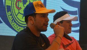Salvador Cabañas durante un evento