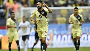 Oribe celebra anotación contra los Pumas