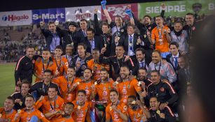El más reciente título oficial del América, fue la Copa MX conquistada en Cd. Juárez
