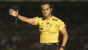 Jorge Isaac Rojas, durante el Veracruz vs Monterrey