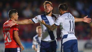 Lucas Cavallini celebra gol de la victoria contra Veracruz