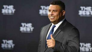 Ronaldo, presente en el evento del The best