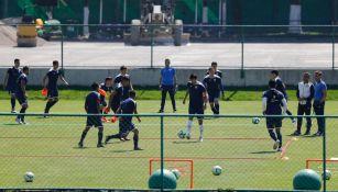Práctica de Cruz Azul tras perder 3-1 vs América en Liguilla