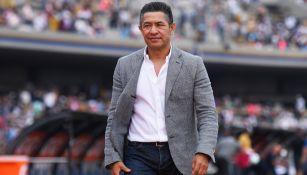 Ambriz, durante un duelo de León en el Clausura 2019