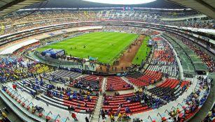 Estadio Azteca previo a duelo entre Cruz Azul y América