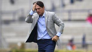 Marioni lamenta una derrota de los Pumas en CU