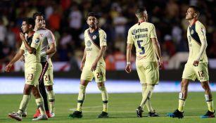 América al término del partido contra León