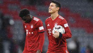 James, tras un duelo con el Bayern Munich