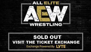 Anuncio de AEW sobre la venta de los boletos