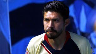 Oribe Peralta previo a un partido contra León