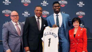 Zion Williamson en la selección del Draft
