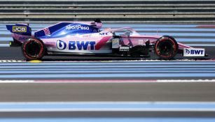 Pérez durante las prácticas del GP de Francia