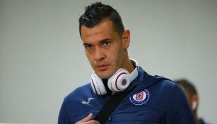 Milton Caraglio, previo a un juego con Cruz Azul