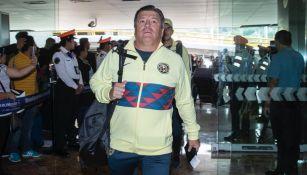 Miguel Herrera antes de viajar a Estados Unidos con América