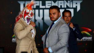 Psycho Clown y Cody Rhodes se encaran