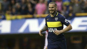 Darío Benedetto, durante un partido con el Boca
